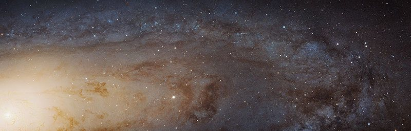 World's Largest Image of Andromeda Galaxy