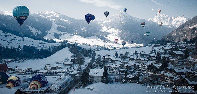 Balloon Festival Switzerland 2010