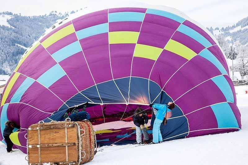 2012 International Hot Air Balloon Week in Switzerland