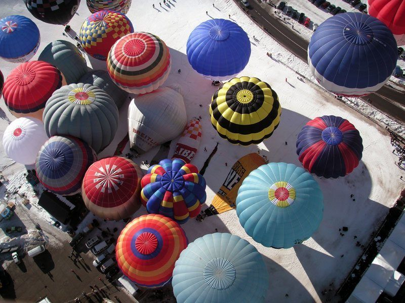 Colorful Balloon Festival
