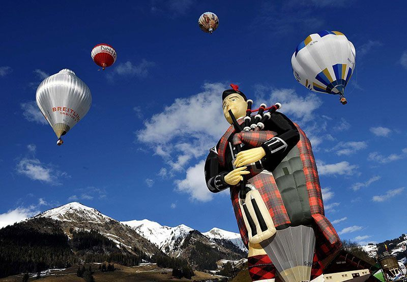 Piper Hot Air Balloon