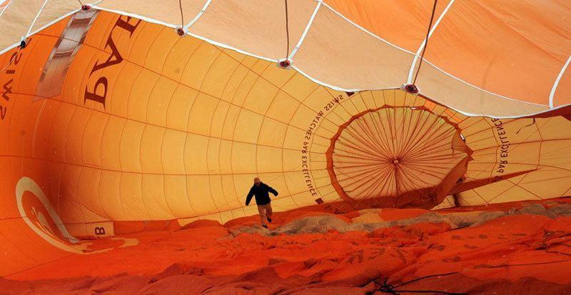 Interior of a Hot Air Balloon