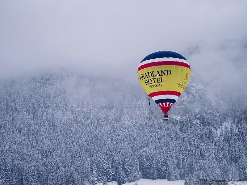 Balloon Week in Winter