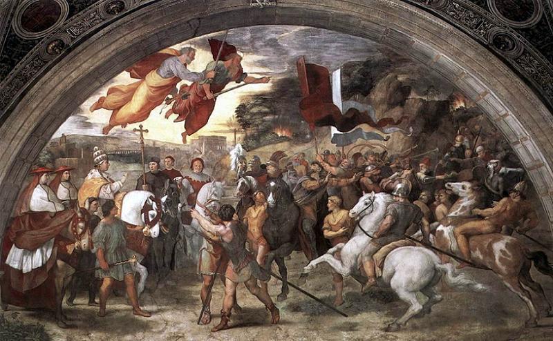 Benedict IX Battle Scene