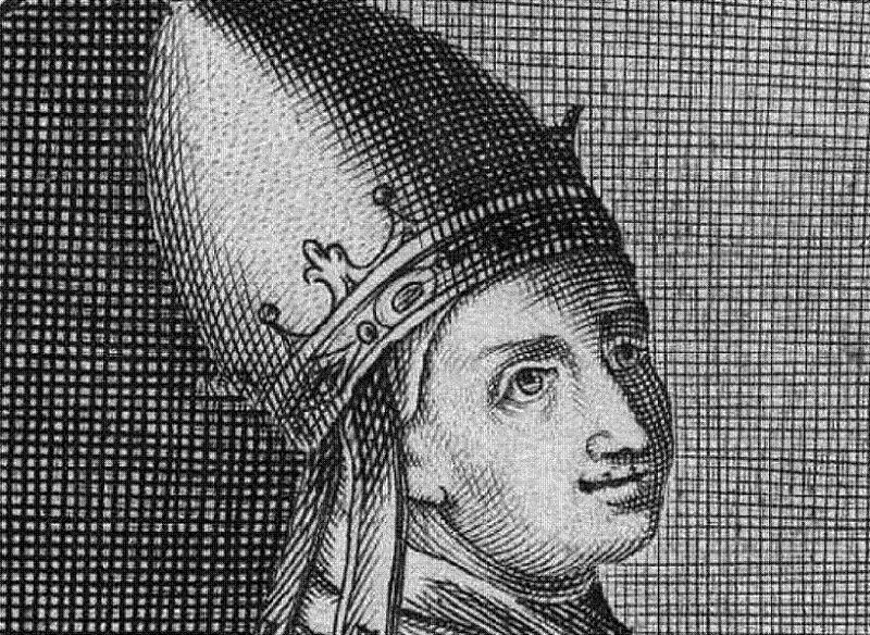 Benedict IX Black White