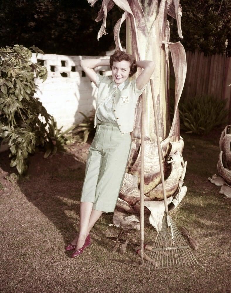 Betty White Garden