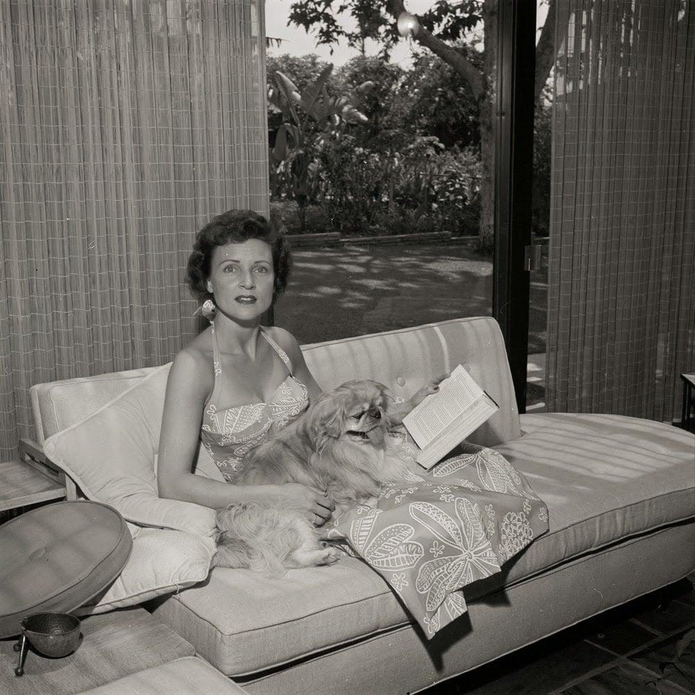 Betty White reading