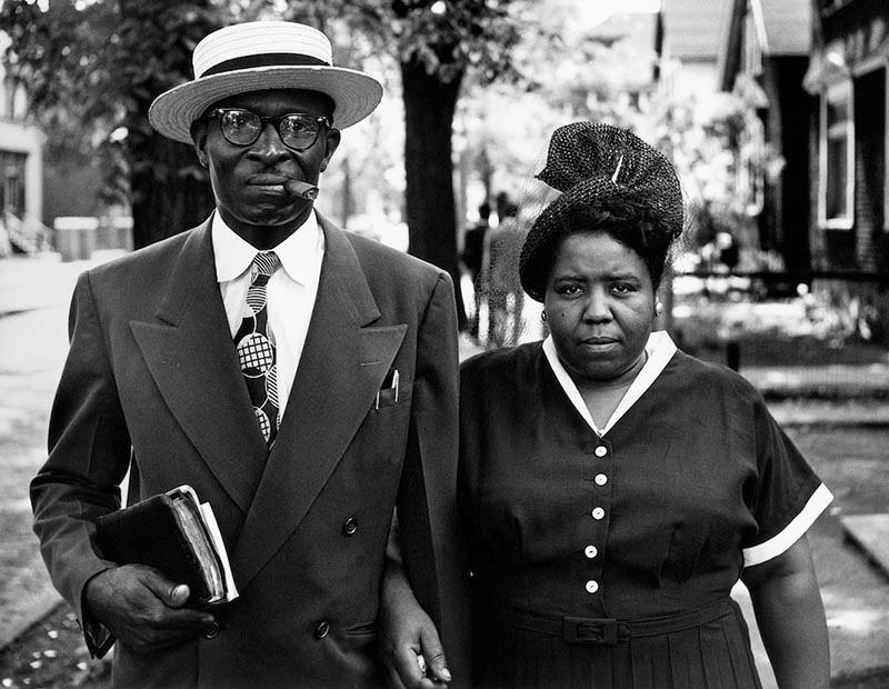 1950s Black America Couple
