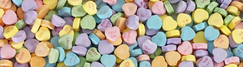 Candy Hearts History