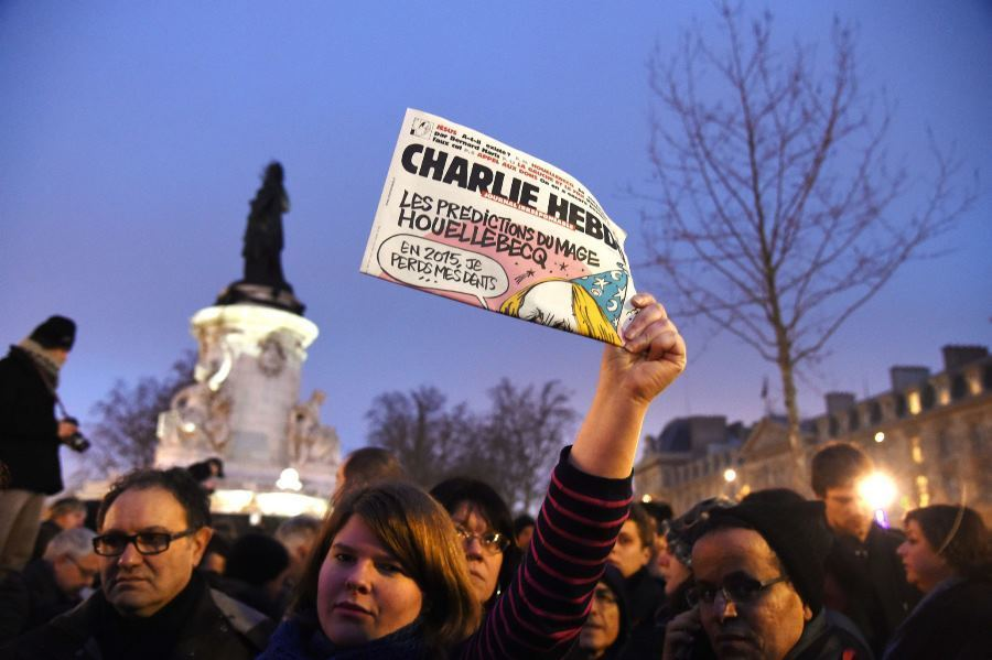 Charlie Hebdo Supporters