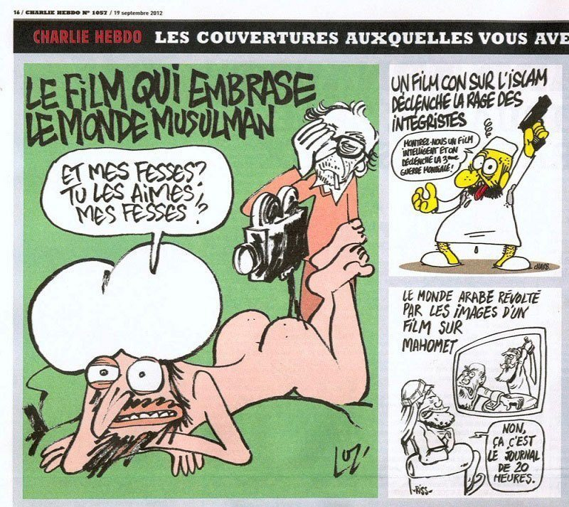 Innocence of Muslims Charlie Hebdo