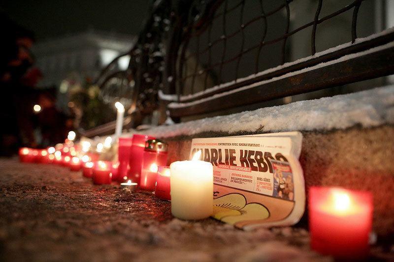 Memorial for Charlie Hebdo