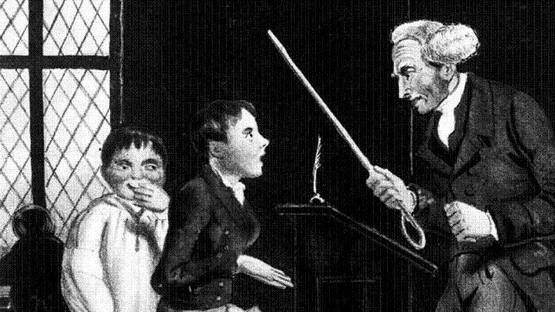 Child Abuse Schoolmaster Cane