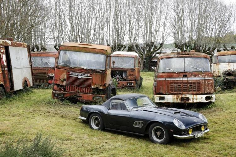 Classic Cars Ferrari Spider