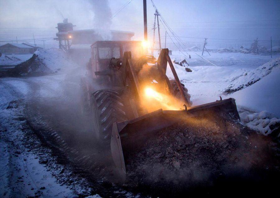 Frozen Tractor
