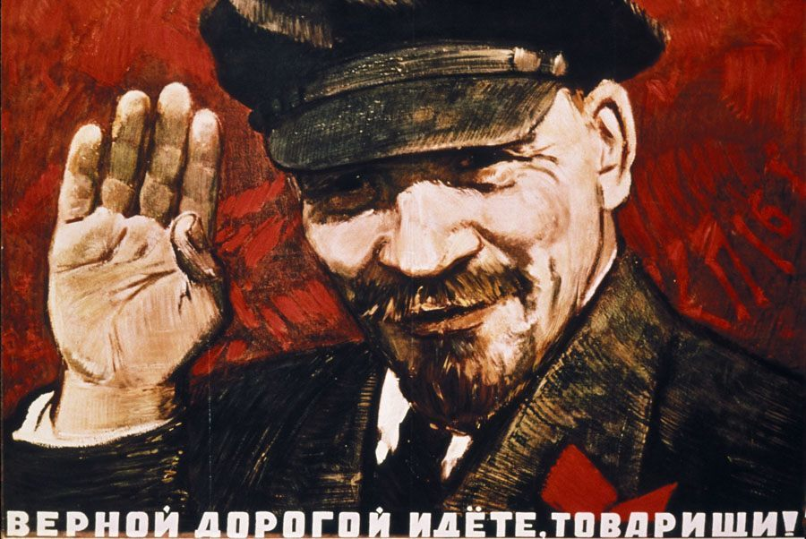 Communist Posters Follow Path