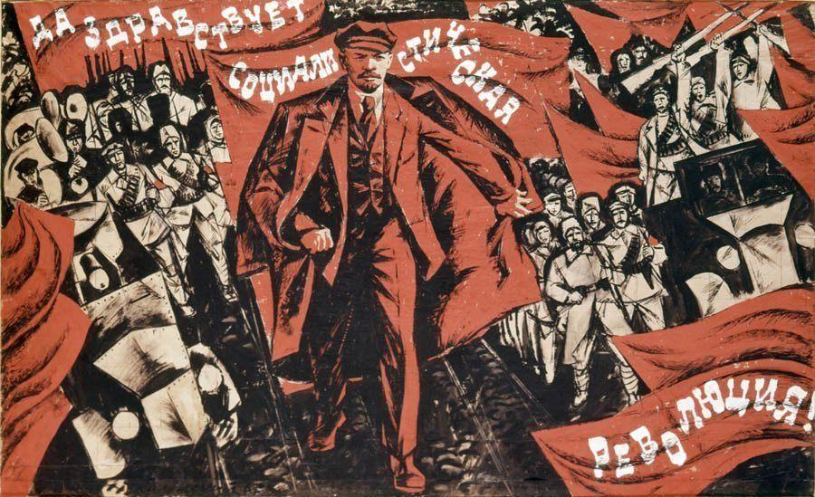 Communist Posters Socialist Revolution
