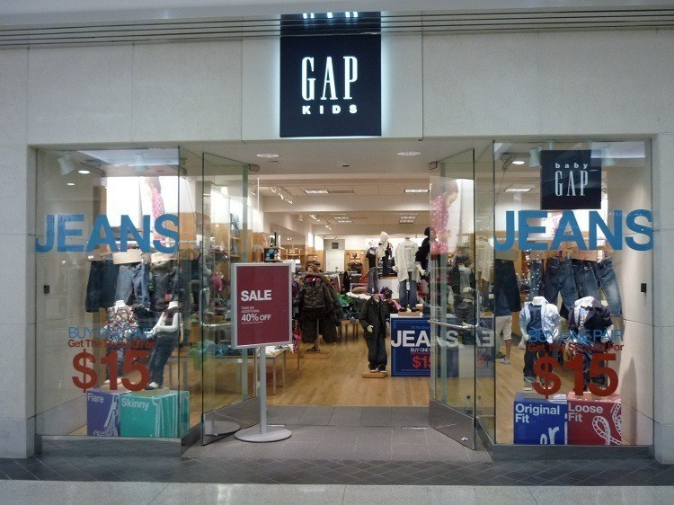 Changing Companies Gap Store