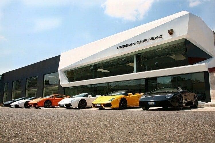 Changing Companies Lamborghini Store