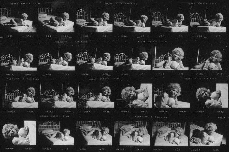 contact sheets faye dunaway