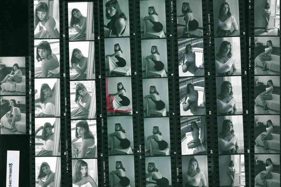 contact sheets joan collins