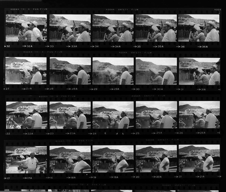 contact sheets once upon a time in the west