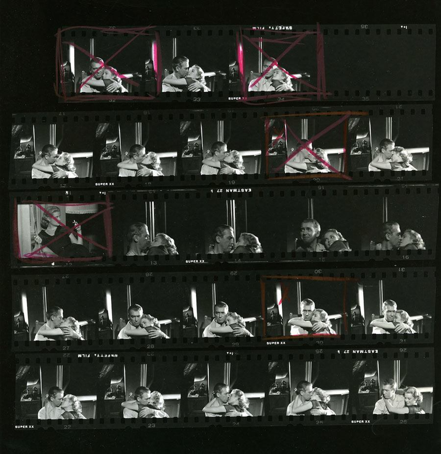 hollywood contact sheets rear window