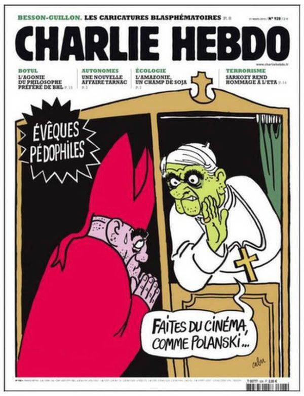 Catholic Charlie Hebdo Cover