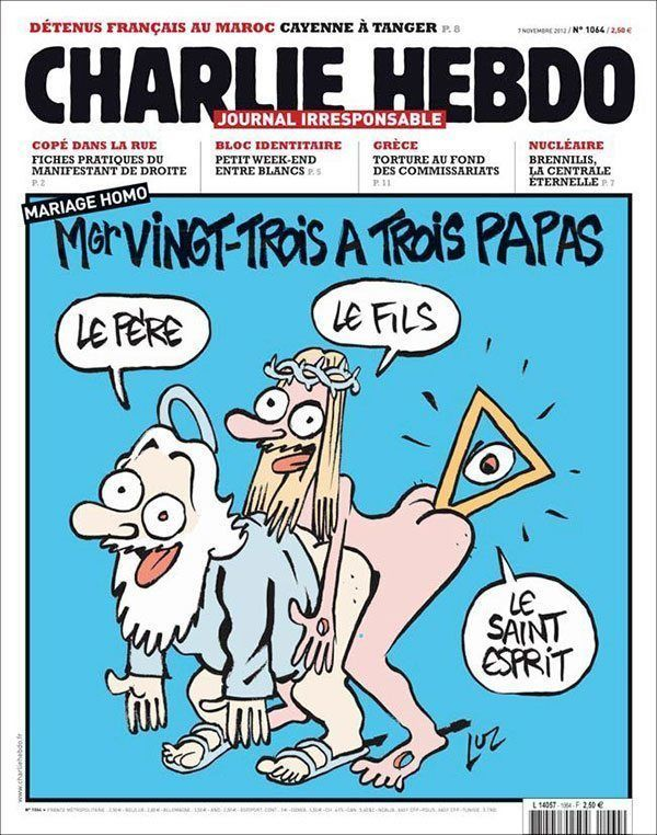 Controversial Charlie Hebdo Covers