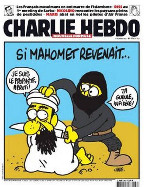 ISIS Charlie Hebdo Cover