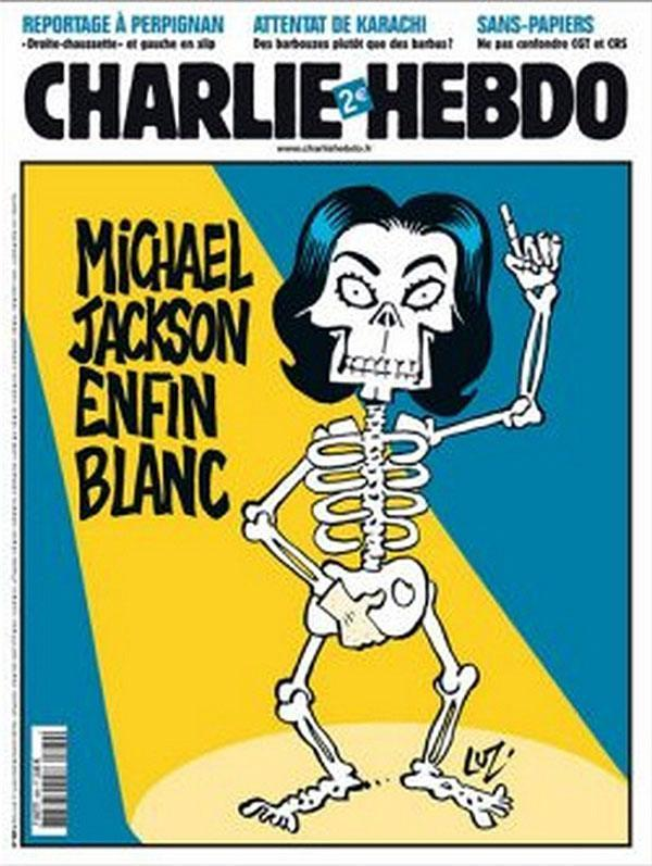 Michael Jackson Controversial Charlie Hebdo Cover