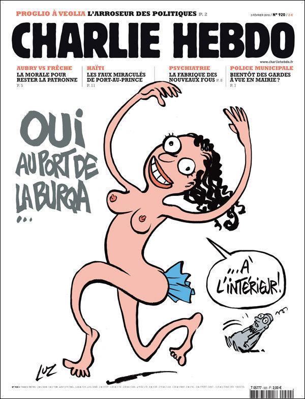 Charlie Hebdo Female Cover