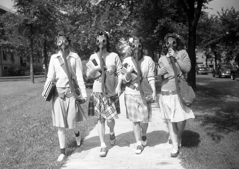 1940s Detroit Masks