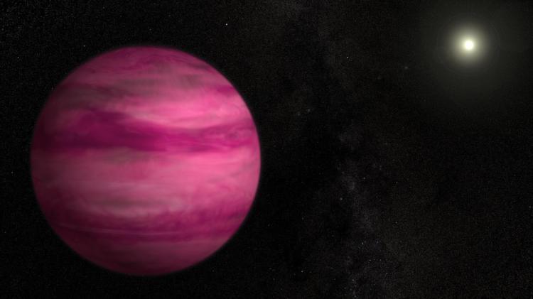 Strangest Exoplanets Pink