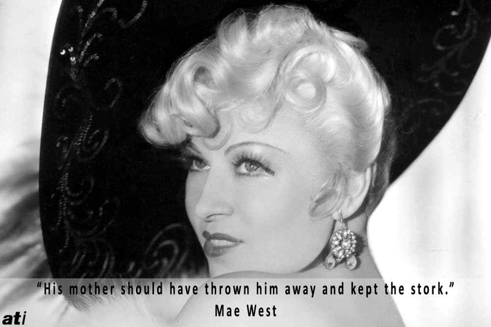 Mae West Funny Quote