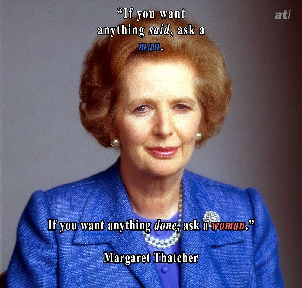 Margaret Thatcher On Getting Things Done