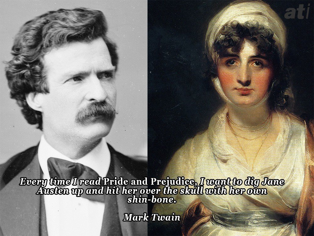 Mark Twain On Jane Austen