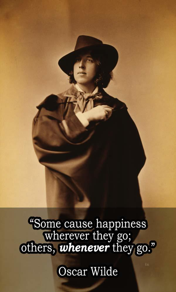 Oscar Wilde On Happiness