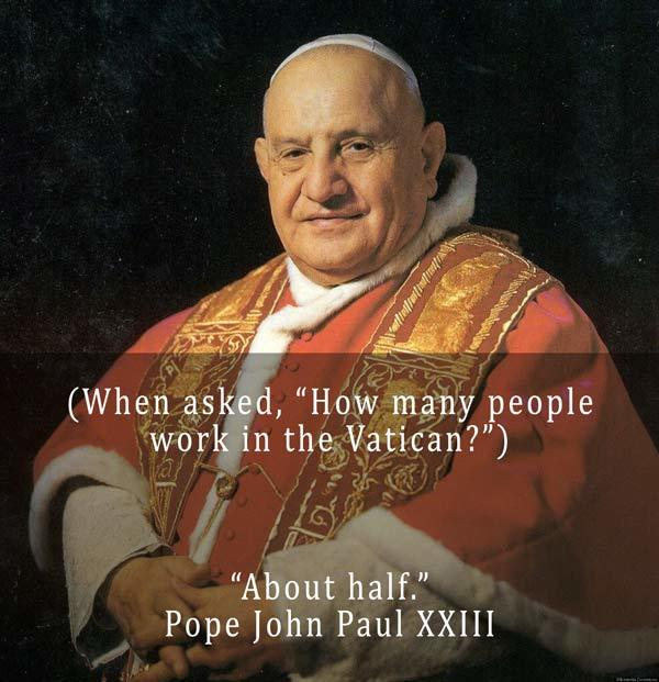 Pope John Paul 23 On The Vatican