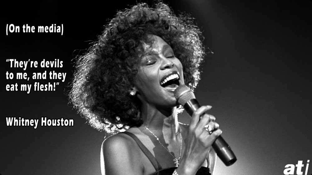 Famous Insults Whitney Houston