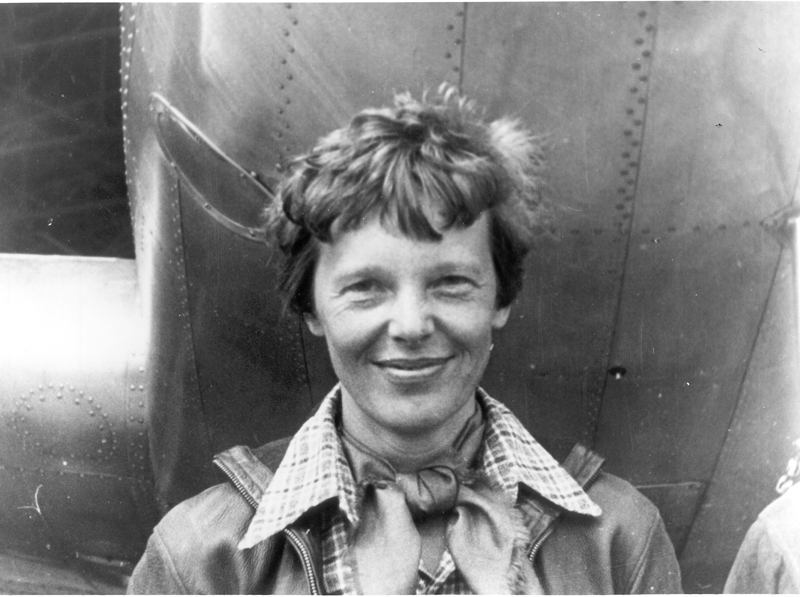 Female Aviators Earhart