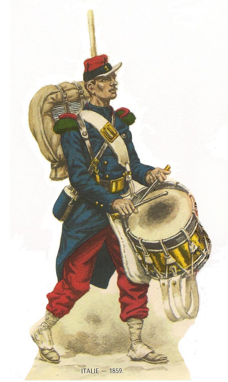 Foreign Legion 1859 Drummer