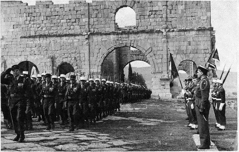 Foreign Legion Algeria Marching
