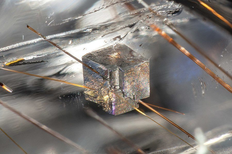 gemstone landscapes dolomite in quartz