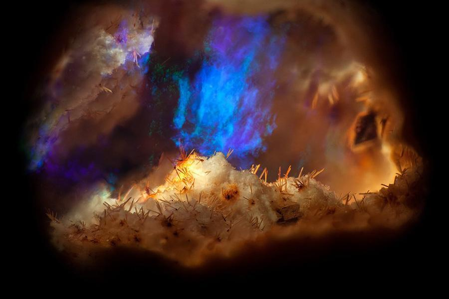gemstone landscapes mexican blue flame