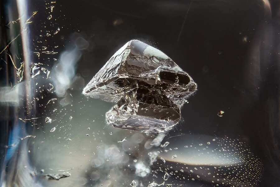gemstone landscapes pyrite in quartz