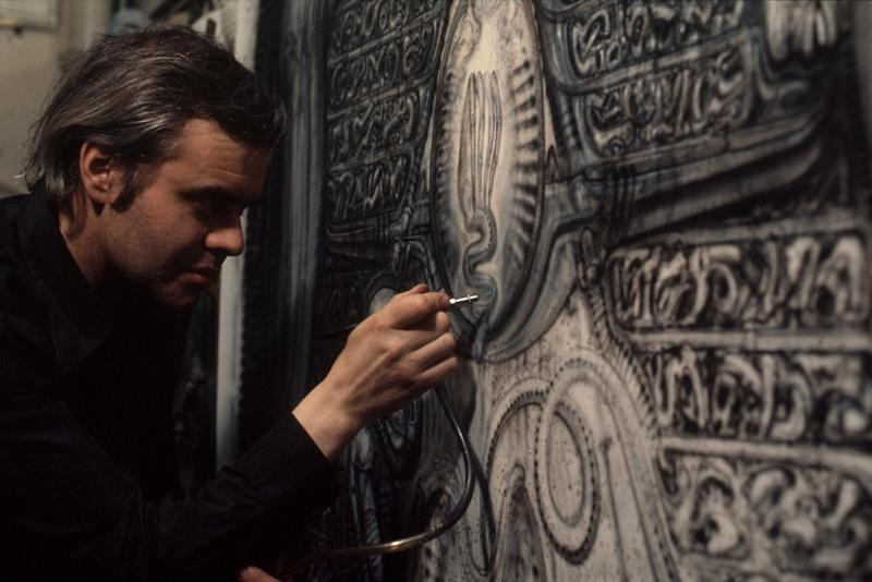 HR Giger At Work