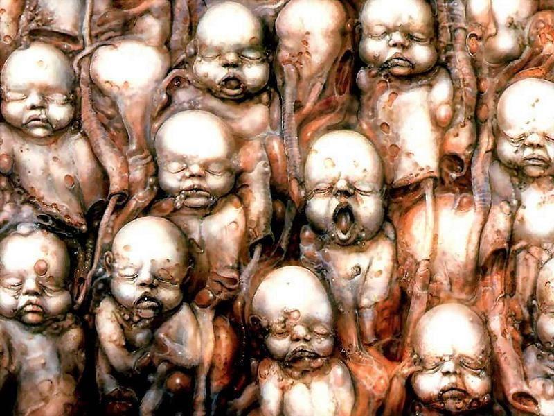 HR Giger Babies