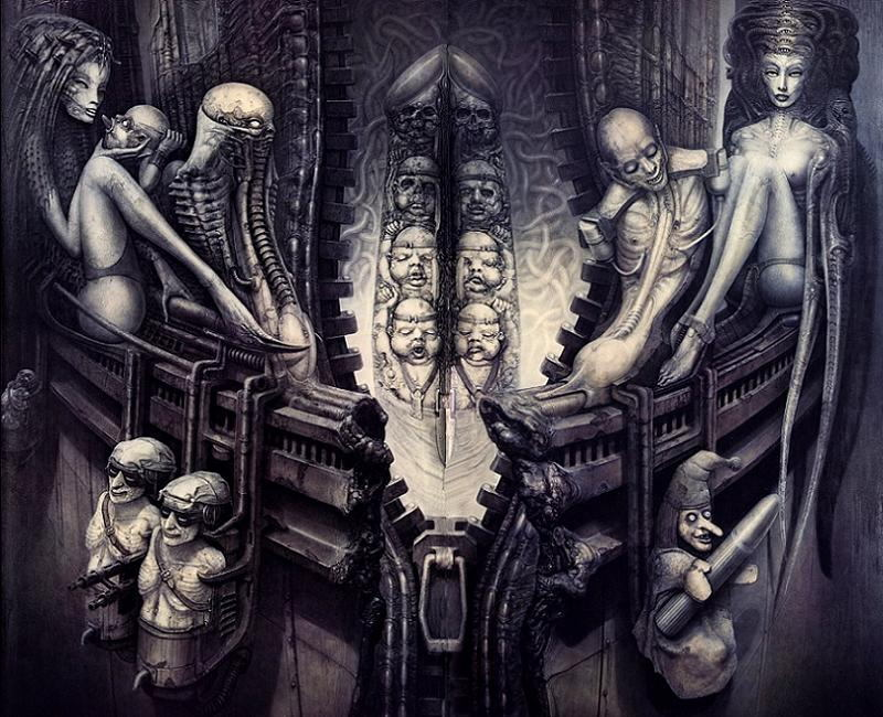 HR Giger Temple