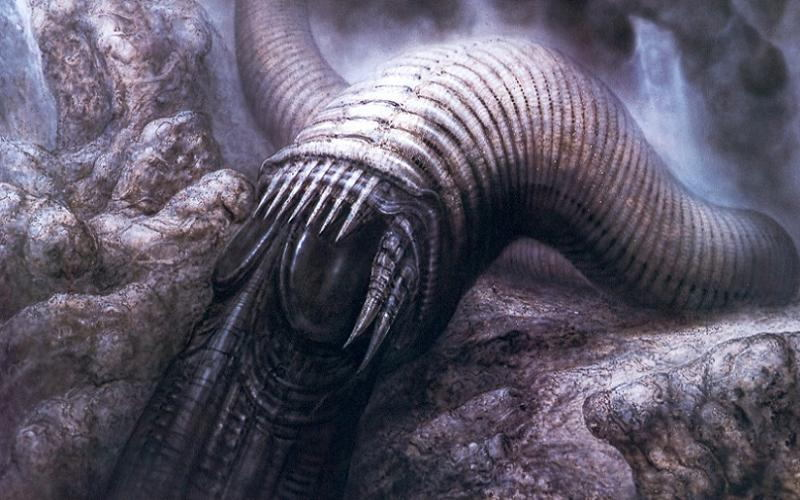 HR Giger Sandworm